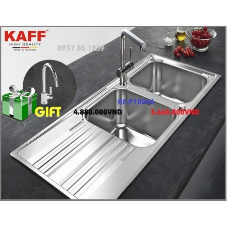 Chậu rửa INOX KAFF KF-P10046